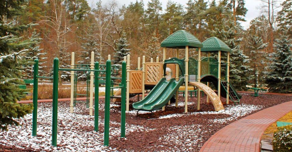 Outdoor Playground Flooring Options