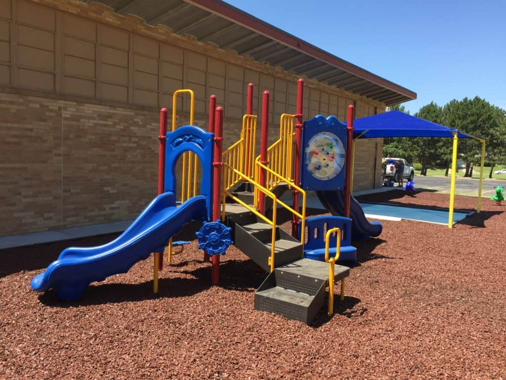 outdoor play surface